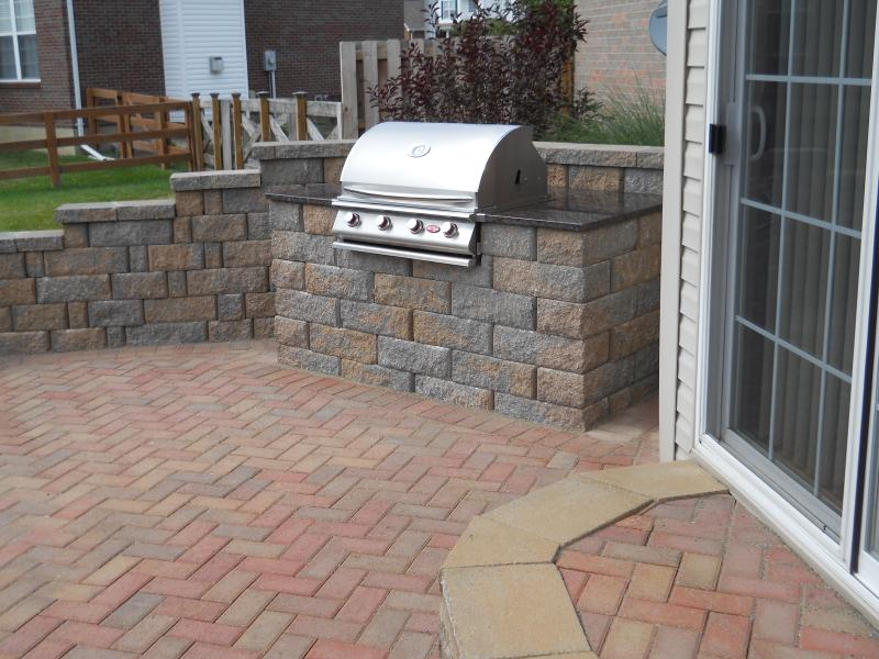 Patio With Built In Grill Patio With Built In Grill ...
